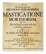 Vampire Book, 1679 Fleece Blanket