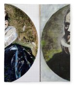 Van Dyck Nicholas Rockox Fleece Blanket