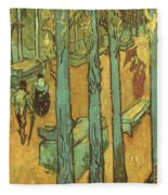 Van Gogh: Alyscamps, 1888 Fleece Blanket