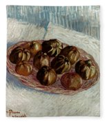 Van Gogh: Apples, 1887 Fleece Blanket