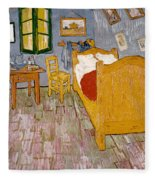 Van Gogh: Bedroom, 1888 Fleece Blanket