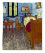 Van Gogh: Bedroom, 1889 Fleece Blanket