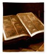 Van Gogh: Bible, 1885 Fleece Blanket