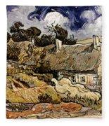 Van Gogh: Cordeville, 1890 Fleece Blanket