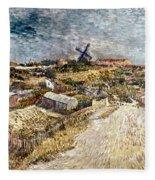 Van Gogh: Gardens, 1887 Fleece Blanket