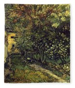 Van Gogh: Hospital, 1889 Fleece Blanket
