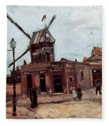 Van Gogh: La Moulin, 1886 Fleece Blanket