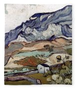 Van Gogh: Landscape, 1890 Fleece Blanket