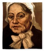 Van Gogh: Midwife, 1885 Fleece Blanket