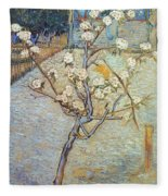 Van Gogh: Peartree, 1888 Fleece Blanket