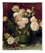 Van Gogh: Roses, 1886 Fleece Blanket