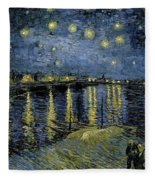 Van Gogh, Starry Night Fleece Blanket