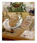 Van Gogh: Still Life, 1889 Fleece Blanket