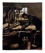Van Gogh: Weaver, 1884 Fleece Blanket