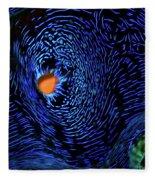 Van Gogh's Clam Fleece Blanket