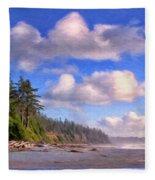 Vancouver Island Fleece Blanket