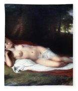 Vanderlyn: Ariadne Asleep Fleece Blanket