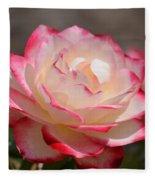 Vanilla Cherry Rose Fleece Blanket