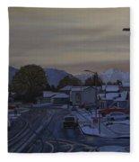 Vanilla Sky Fleece Blanket