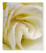 Vanilla Swirl Fleece Blanket