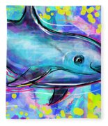 Vaquita Fleece Blanket