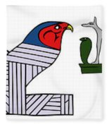 various demons of ancient Egypt Fleece Blanket