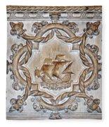 Vasco Da Gama Sarcophagus Lisbon Fleece Blanket
