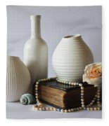 Vases Fleece Blanket