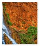 Vaseys Paradise Twin Falls Fleece Blanket