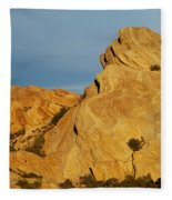 Vasquez Rocks State Park, Sunset Fleece Blanket