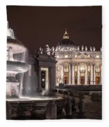 Vatican City Fleece Blanket