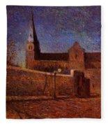 Vaugirard Church 1879 Fleece Blanket