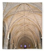 Vaulted Ceiling And Arches Fleece Blanket