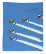 Vee Formation Fleece Blanket