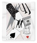 Vegas Night Fleece Blanket