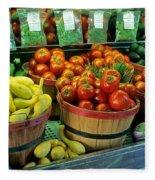 Vegetables Fleece Blanket
