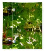 Vegetables Plant For Urban Life 1 Fleece Blanket