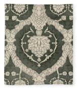 Velvet Hangings, 16th Century Fleece Blanket