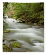 Velvet Stream Fleece Blanket