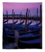 Venetian Dawn Fleece Blanket