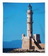Venetian Lighthouse Fleece Blanket