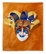 Venetian Mask 2 Fleece Blanket