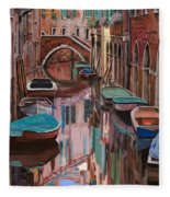 Venezia A Colori Fleece Blanket
