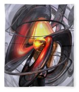 Vengeance Abstract Fleece Blanket