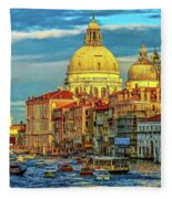 Venice Basilica Fleece Blanket