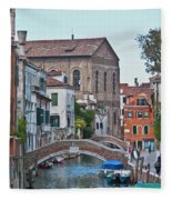 Venice Double Bridge Fleece Blanket
