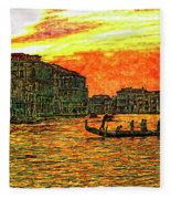 Venice Eventide Fleece Blanket