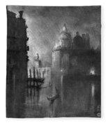Venice, Grand Canal, C1905.  Fleece Blanket