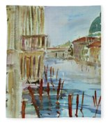 Venice Impression IIi Fleece Blanket