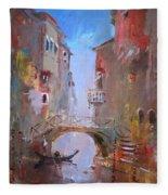 Venice Impression Fleece Blanket